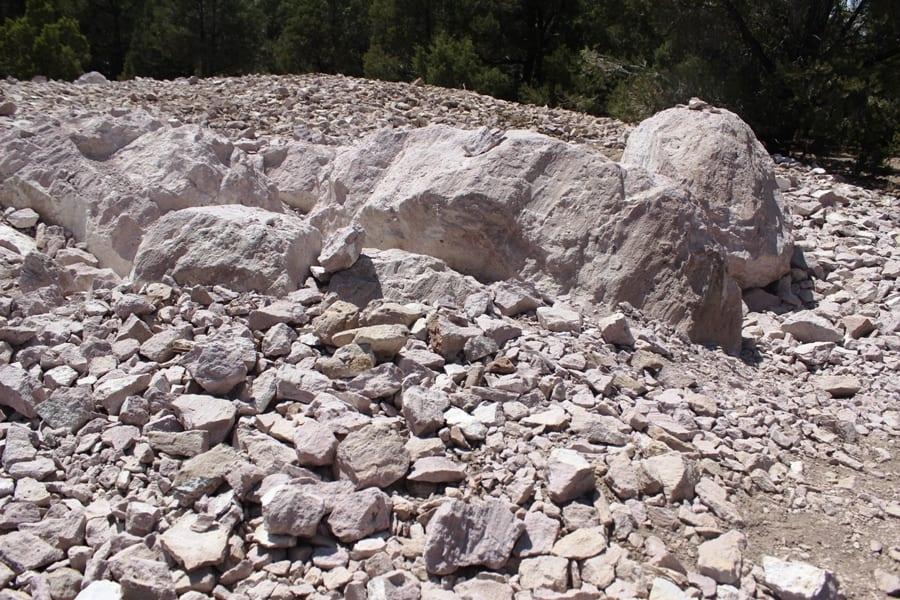 All That Glitters Isn't Garnet: Hunting for Gems at Garnet Hill in Ely, Nevada - Rocks of Garnet Hill