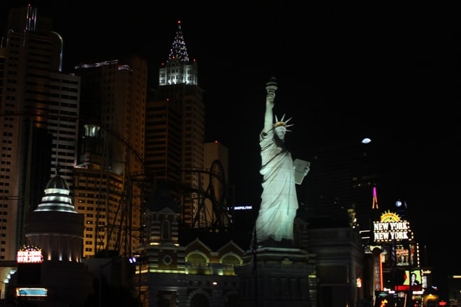 Statue of Liberty replica Las Vegas