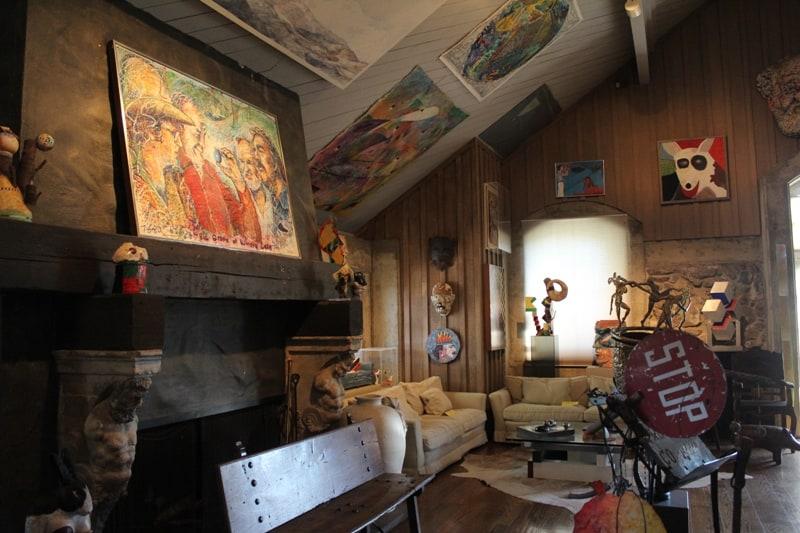 inside of di Rosa Residence