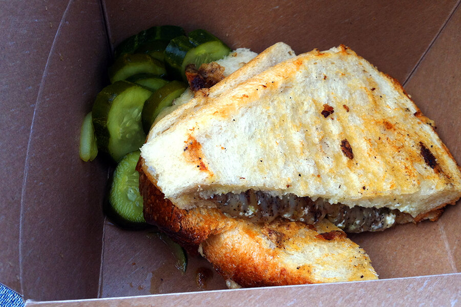 Cowgirl Creamery grilled cheese sandwich