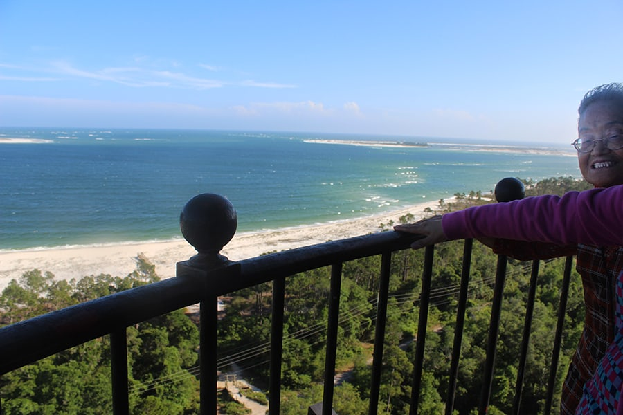 Balcony of the Pensacola Lighthouse