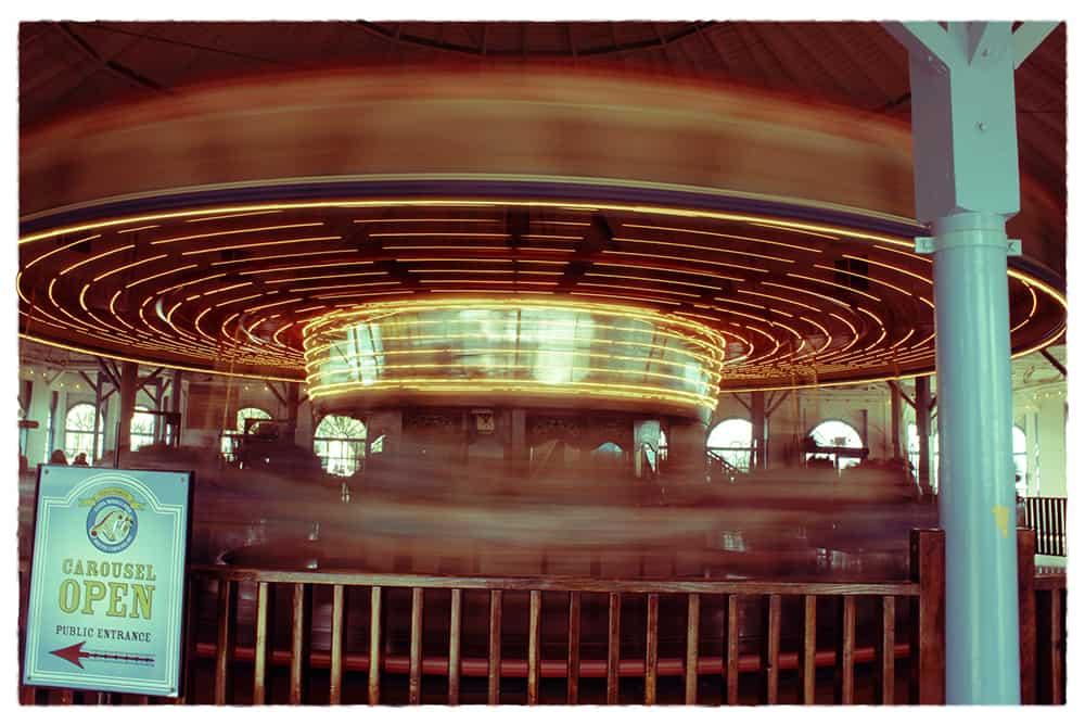 Carousel on Santa Monica Pier
