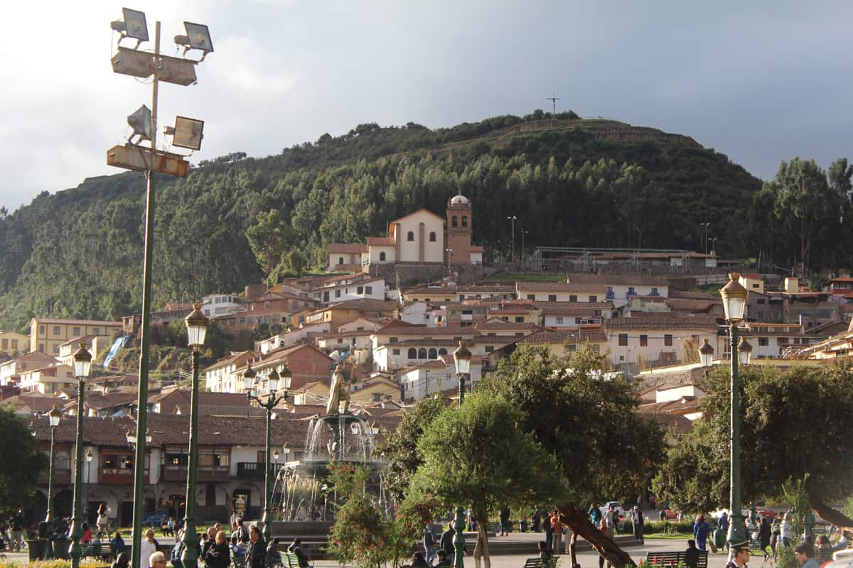 The hills of Cusco Peru