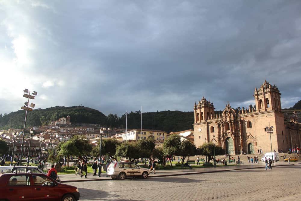 Cusco Cathedral in Plaza de Armas