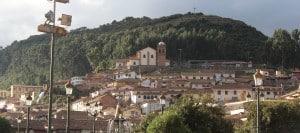 The hills of Cusco, Peru