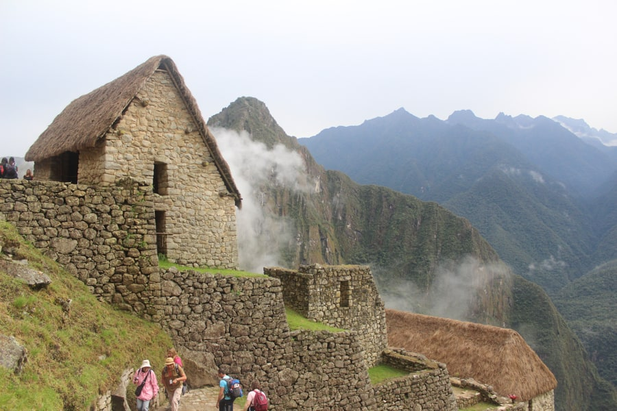 Gatekeepers Hut Machu Picchu