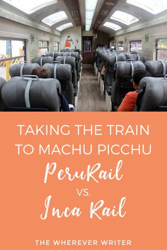 Taking the Train to Machu Picchu