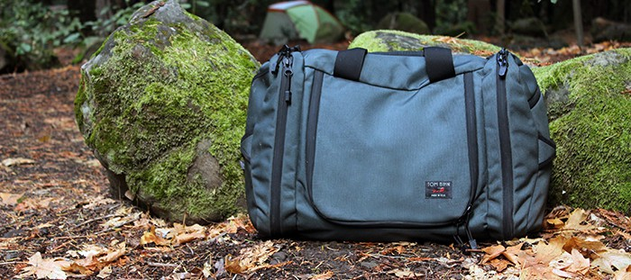 Tom Bihn Aeronaut in the woods