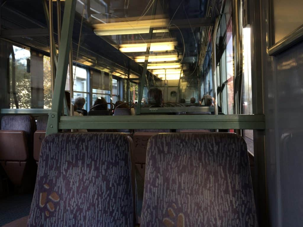 how to buy paris metro tickets - sncf train interior