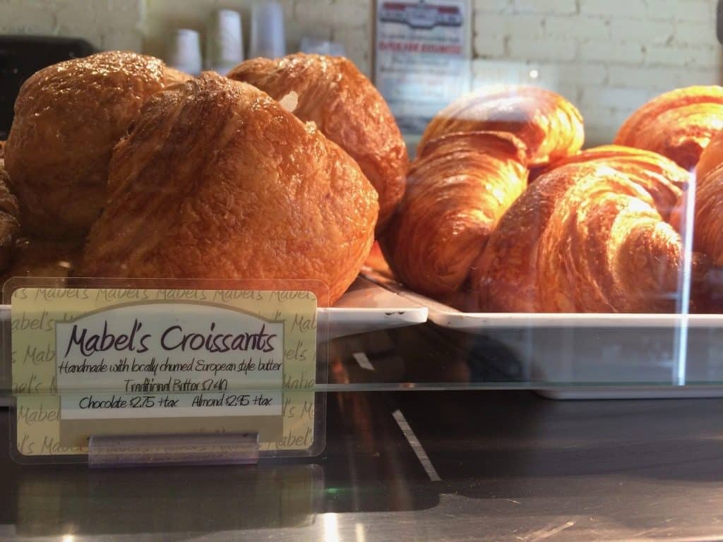 Mabel's Bakery Toronto - Croissants in case