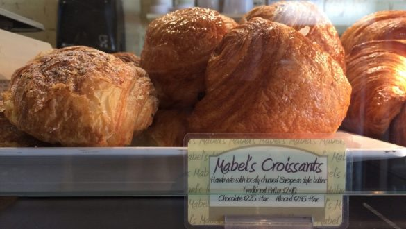 Mabel's Bakery Toronto - Croissants on plate