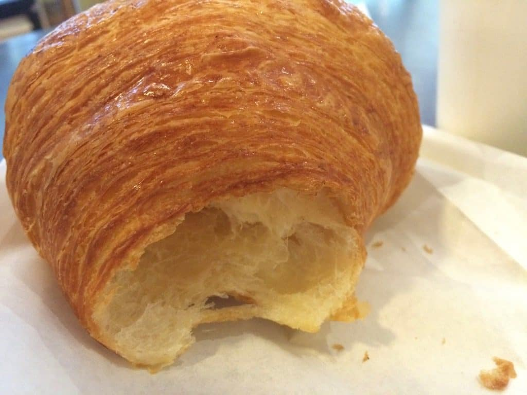 Mabel's Bakery Toronto croissant torn