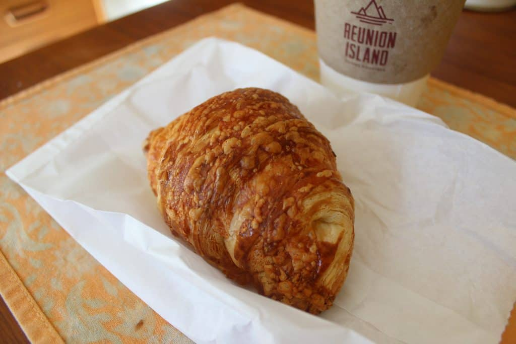 cheddar croissant from Fantail Bakery Toronto