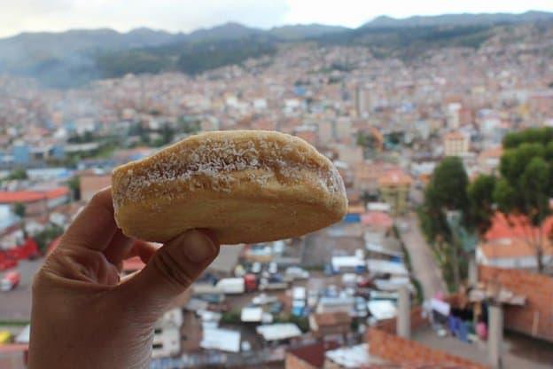 Typical foods in Peru: Alfajor in Cusco, Peru