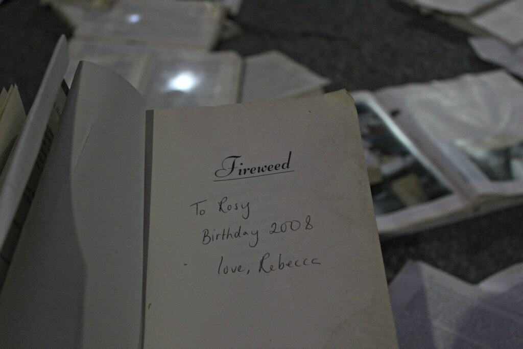 Nuit Blanche Toronto - Birthday book