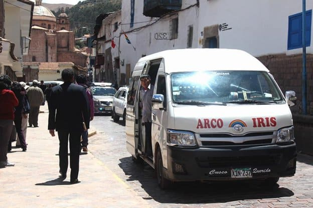 colectivo in cusco peru
