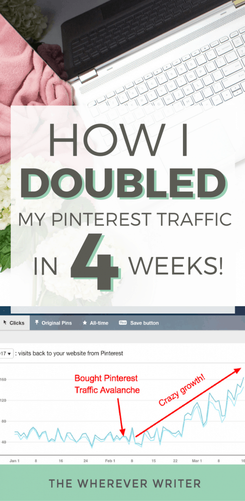 Pinterest Tips for Bloggers- How I DOUBLED My Pinterest Traffic in 4 Weeks