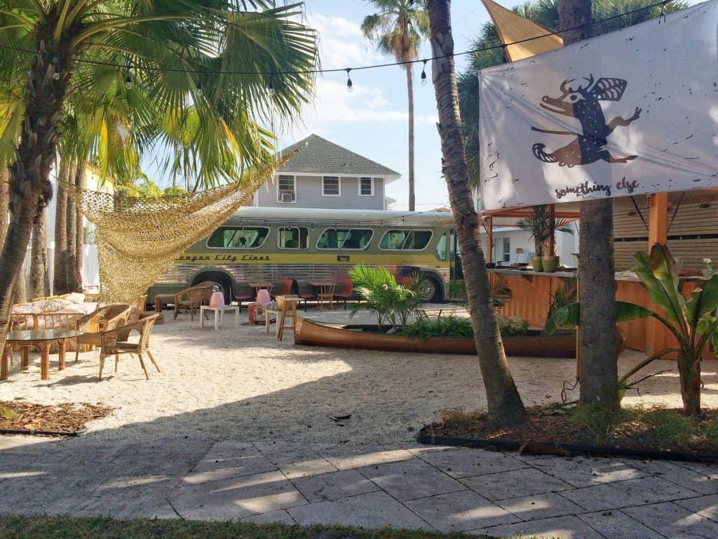 Roam Coliving Miami - Food Truck Bus