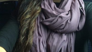 Chrysalis-Cardi-Review-Cardi-worn-as-a-double-looped-infinity-scarf-in-Vintage-Lavender-768x1024
