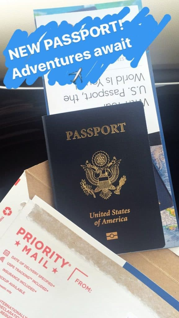 US passport renewal expedited - My new passport received in the mail via USPS Priority Mail