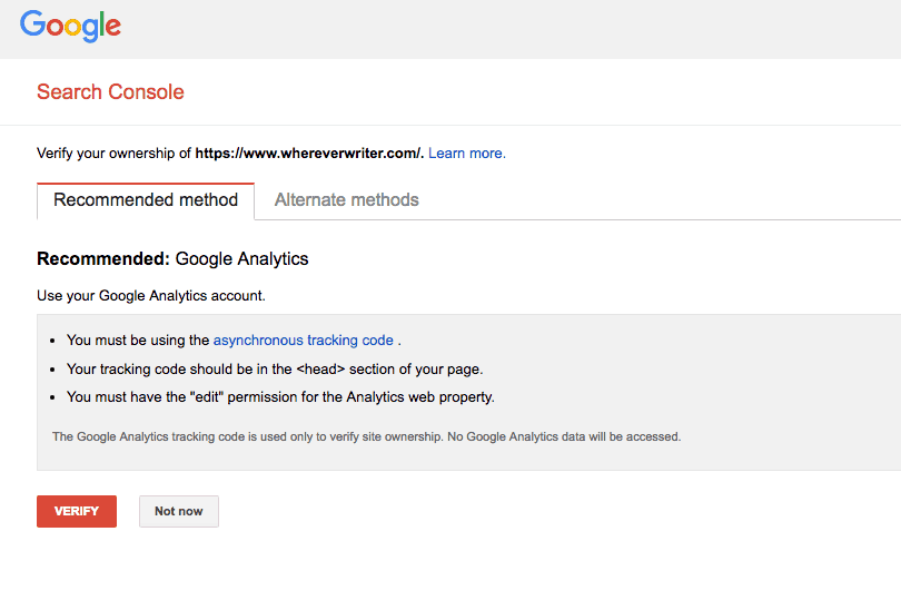 How to Switch to HTTPS - Update Search Console Step 3