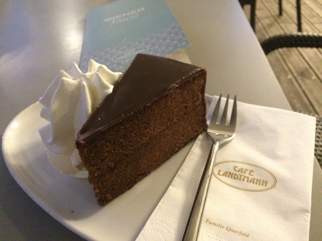 Cafe Landtmann Sachertorte