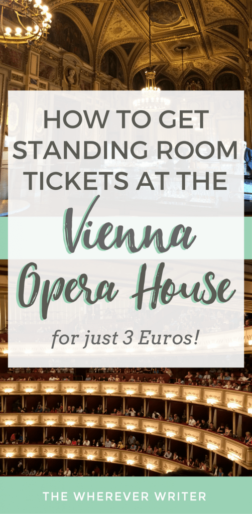 Standing Room Tickets Vienna Opera House - Things to Do in Vienna