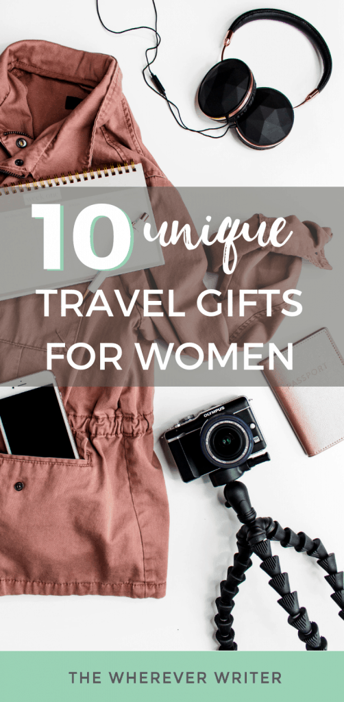 Travel gifts for women - gift ideas and guide
