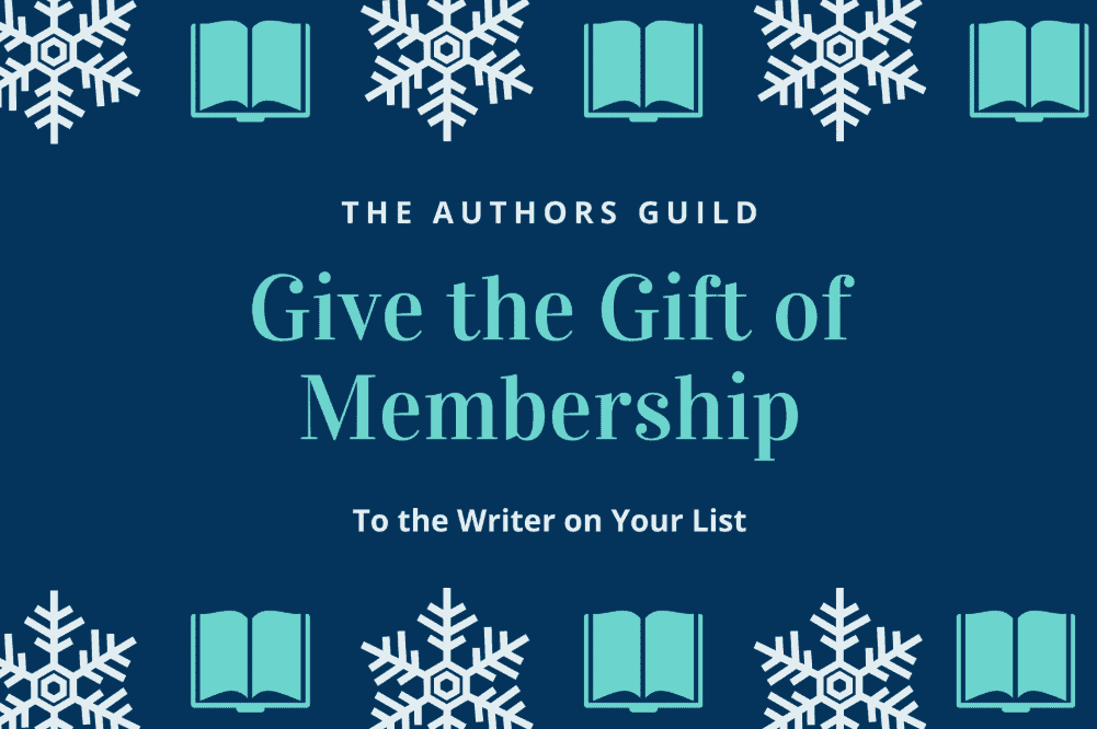 Unique Writers Gift - Join Page to Authors Guild