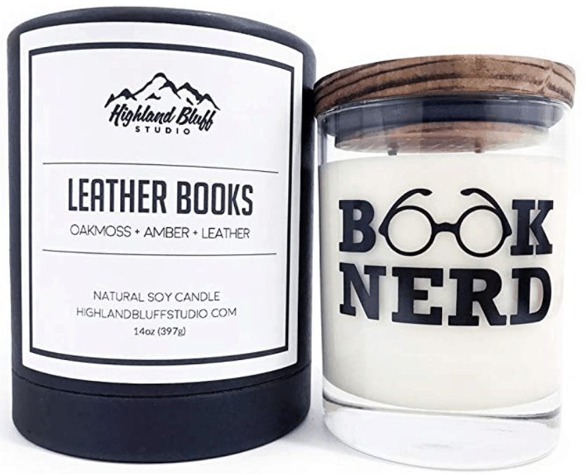 Leather Nerd Candle