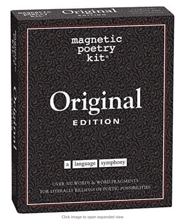 Magnetic Poetry Kit - Original Edition