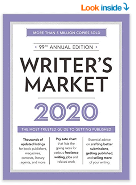 Writer's Market 2020 Book