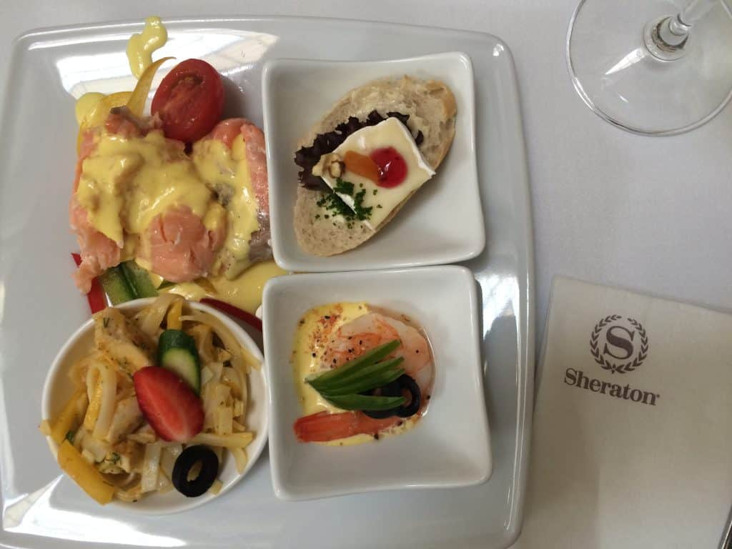 Eastern Europe Itinerary 2 weeks - Sheraton Grand Krakow food.JPG