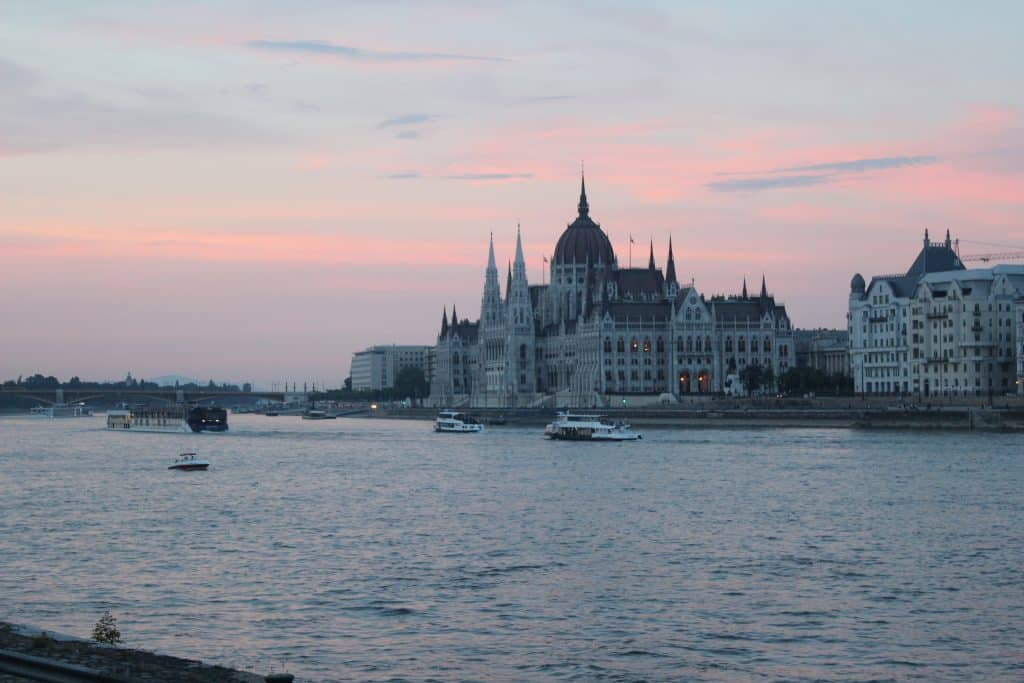 Eastern Europe Itinerary - Budapest Parliament along the Danube