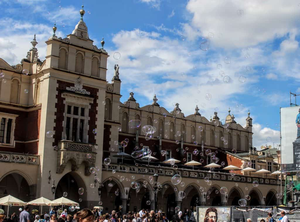 Eastern Europe Itinerary - Main Square, Krakow, Poland