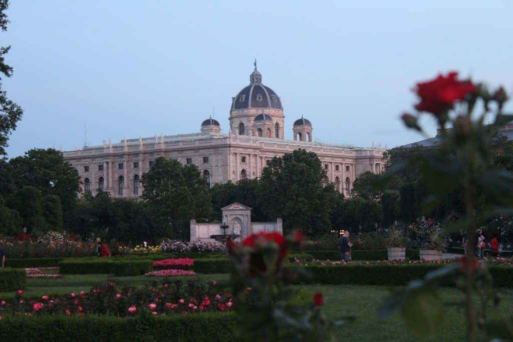 Eastern Europe Itinerary - Volksgarten in Vienna