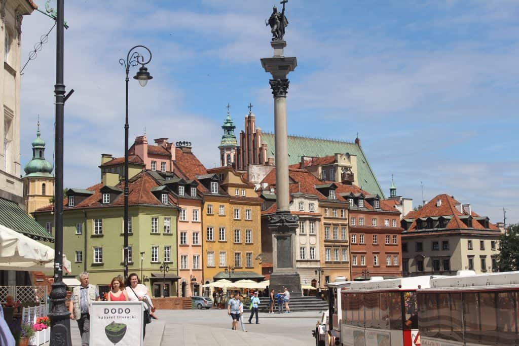 Eastern Europe Itinerary - Warsaw square