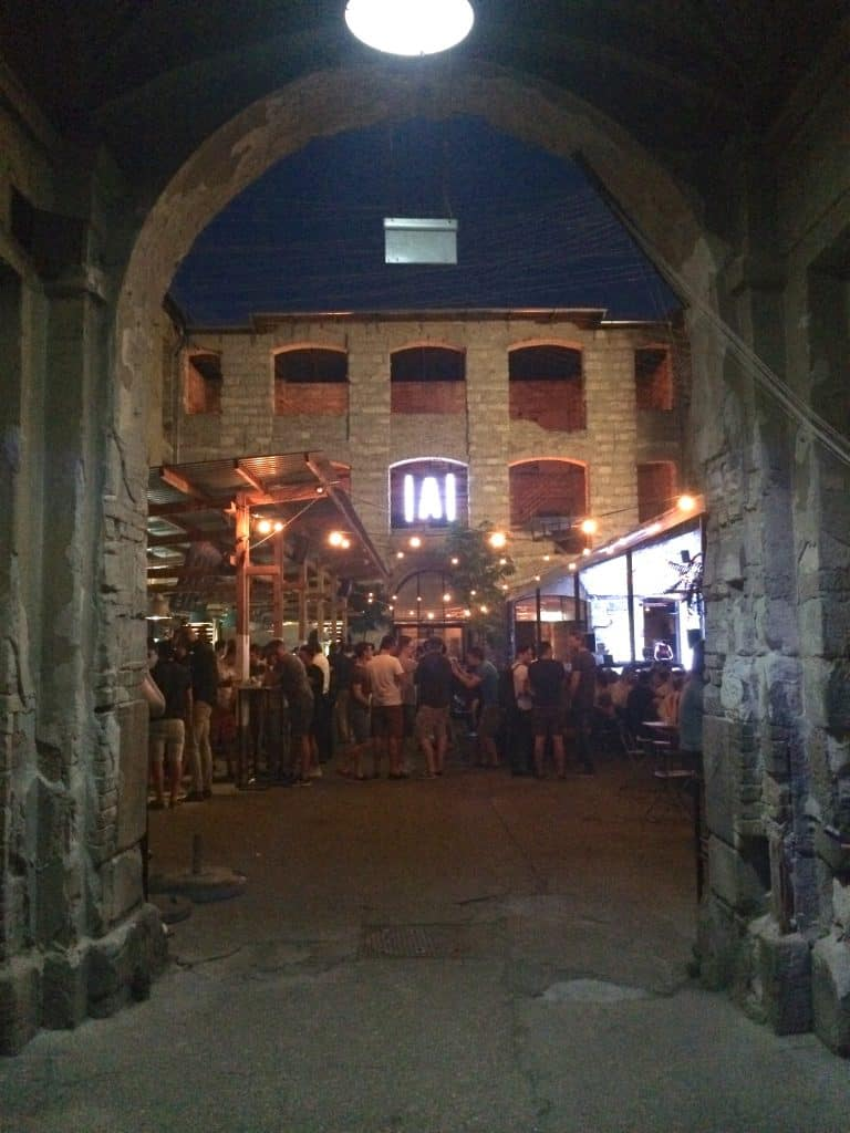 3 days in Budapest - Ankert ruin bar
