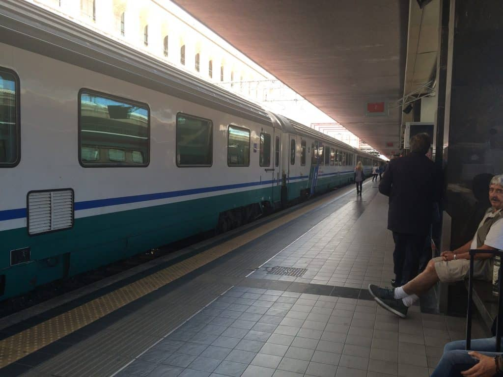Leonardo Express Airport Train - Regional train to Fabriano