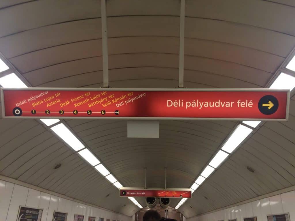 Keleti palyaudvar stop tram map
