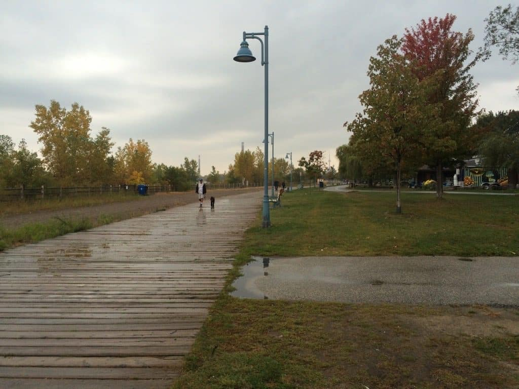 Cheap things to do in Toronto - Woodbine Beach boardwalk