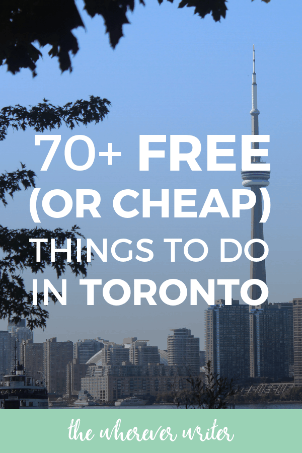 Free and Cheap Things to Do in Toronto