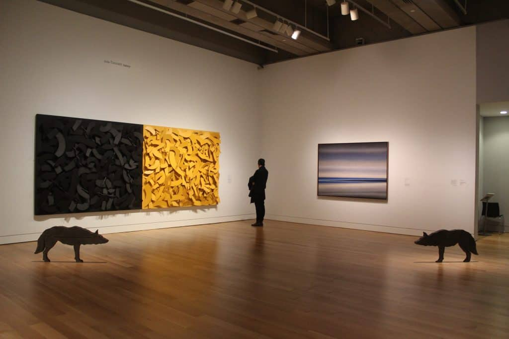 Free things to do in toronto - Art Gallery of Ontario interior exhibit