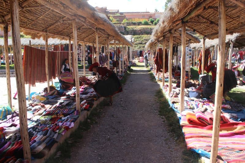 Day trips from Cusco - Chinchero market