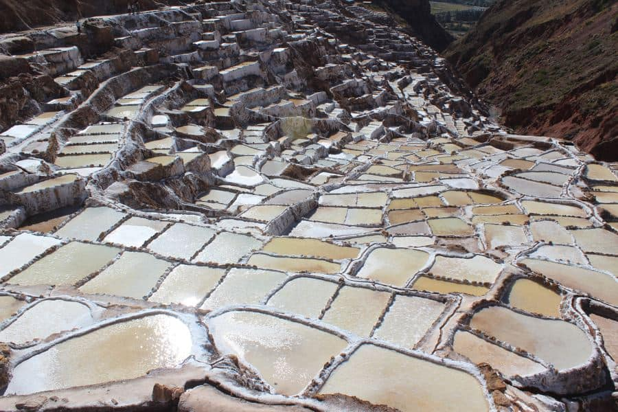 Day trips from Cusco - Salineras salt pools