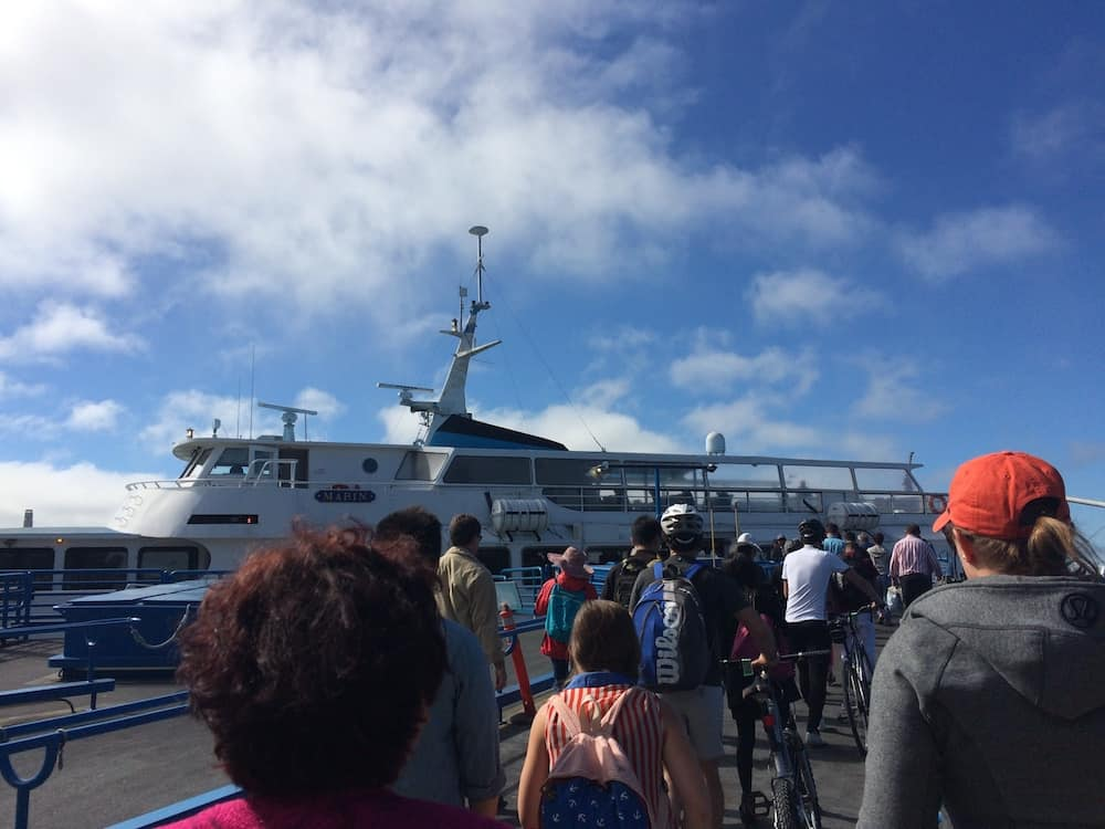 San Francisco Itinerary - Ferry