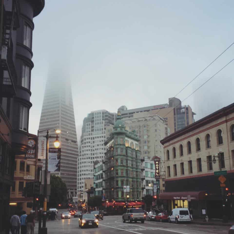 San Francisco Itinerary - Flatiron Building