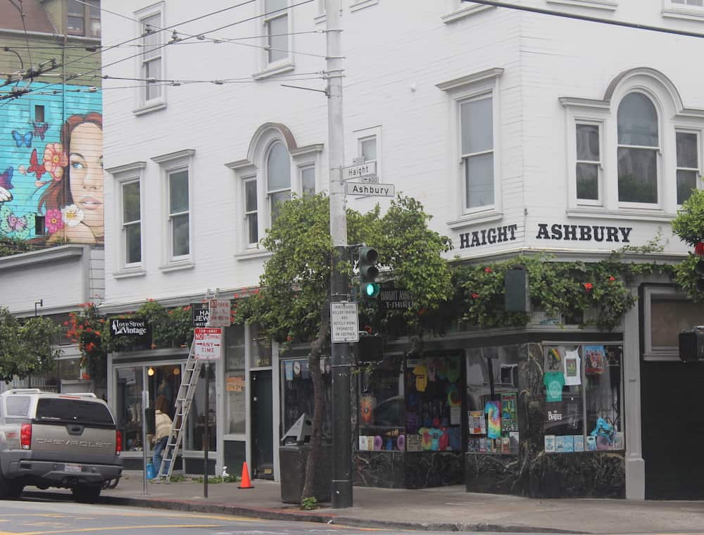 San Francisco Itinerary - Haight-Ashbury Sign