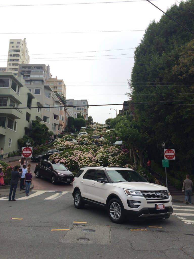 San Francisco Itinerary - Lombard Street