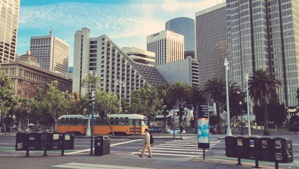 San Francisco Itinerary - Streetcar Embarcadero